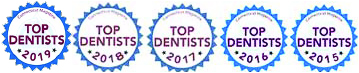 top dentist 2015-2019